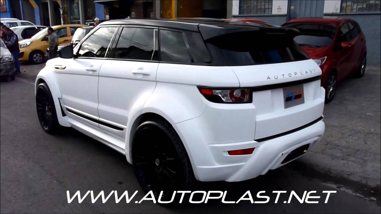 autoplast range rover evoque hamann youtube. Black Bedroom Furniture Sets. Home Design Ideas