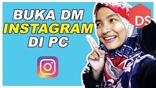Cara Membuka Direct Message Instagram di PC