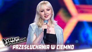 """Daria Marcinkowska - """"Lay Me Down"""" - Przesłuchania w ciemno - The Voice of Poland 10"""