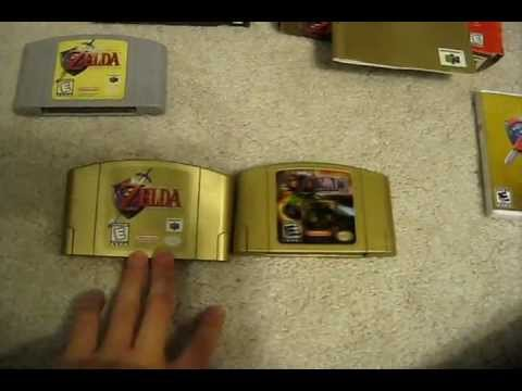 Just got the gold cart of Ocarina of Time!