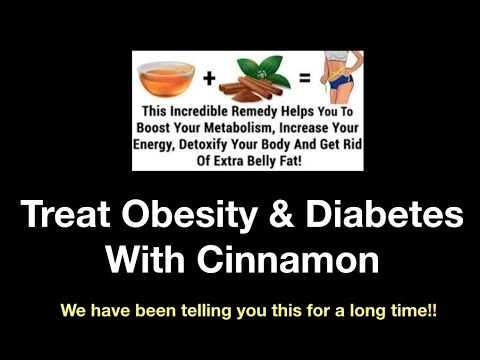 Treat Obesity & Diabetes With Cinnamon- Lose 30 Pounds