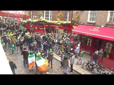 EarthCam Live: St. Patrick's Day Live from Dublin