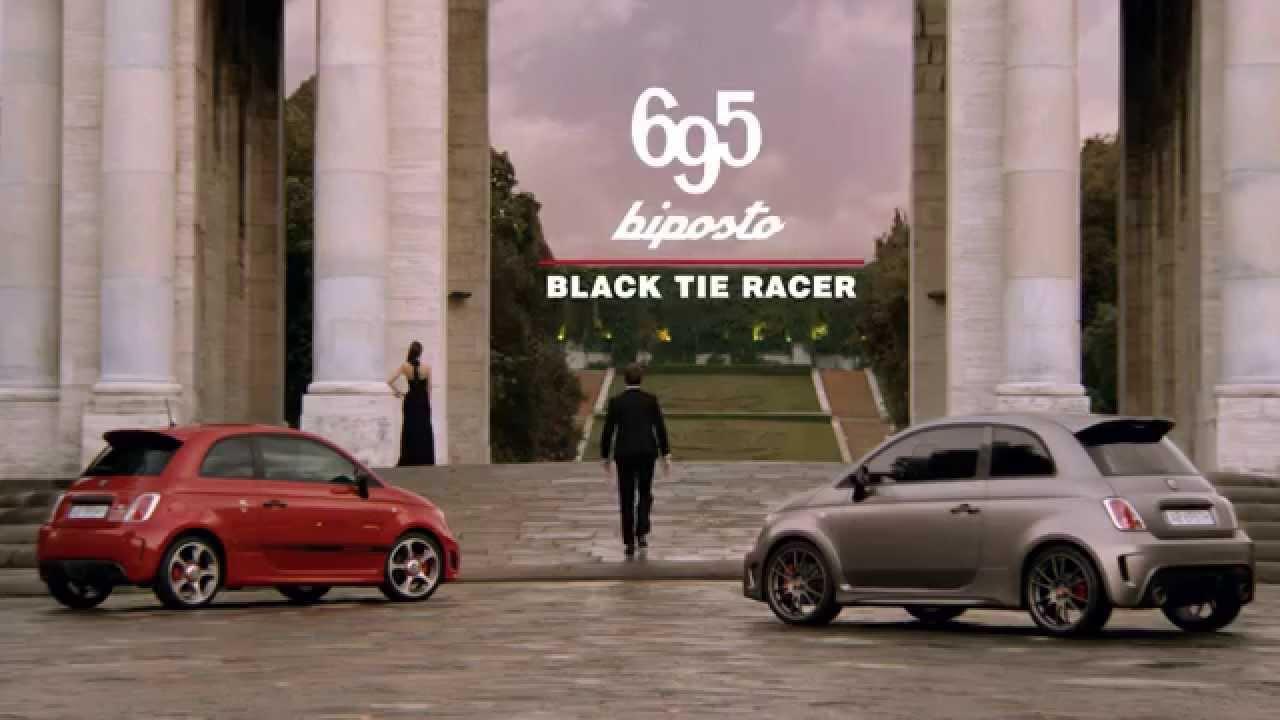 Abarth 695 biposto - black tie racer