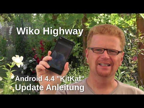Wiko Highway KitKat Update Anleitung - www.technoviel.de