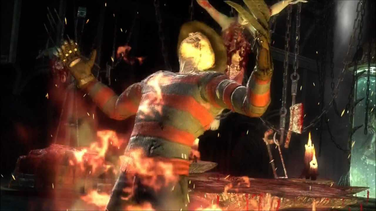 Mortal Kombat 2011 Freddy Krueger Fatalities Babality And X