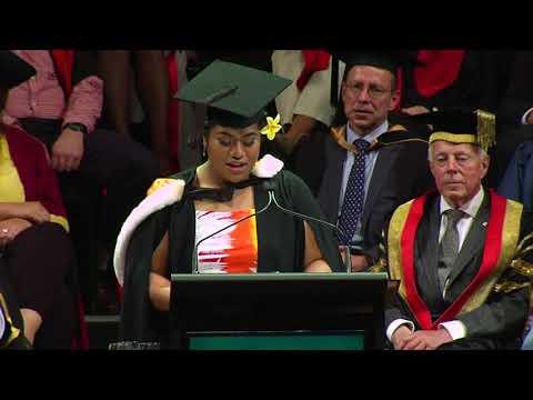 Sina Ah Sam - Graduate Speaker December 2017