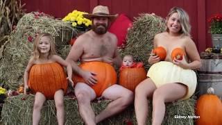 Nova Scotia family takes fall photo to the next level