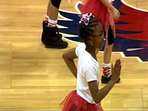 Hopewell Christian Academy- God's Grace Dancers Atlanta Hawks Pre-Game Show