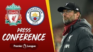 Jürgen Klopp's pre-match press conference | Manchester City