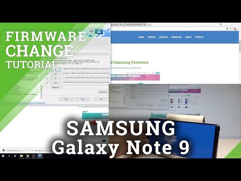 How to Flash SAMSUNG Galaxy Note 9 - Change Firmware / Update Android System