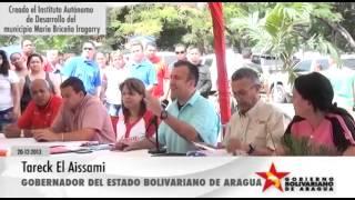 Aragua Potencia - Creado Instituto Autónomo de Desarrollo del municipio Mario Briceño Iragorry