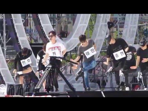 [150809] SHINee - Married To The Music MTTM Rehearsal Inkigayo In Sokcho