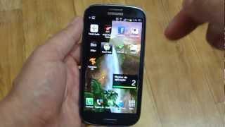 Galaxy S3 SIII - screenshot captura de tela 2 modos
