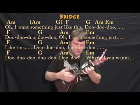Something Just Like This (The Chainsmokers) Ukulele Cover Lesson in C with Chords/Lyrics