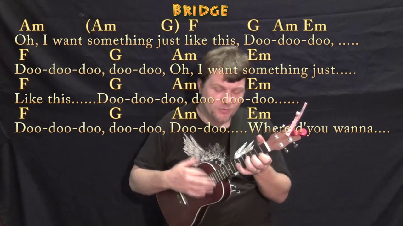 Something Just Like This (The Chainsmokers) Ukulele Cover Lesson in C with Chords/Lyrics - YouTube