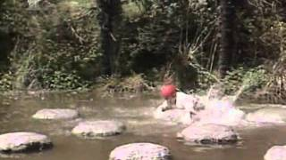 Takeshi's Castle - Skipping Stones.