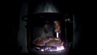 Супер  рецепт приготовление утиных грудок дикой утки кряквы шашлыка в самодельном тандыре