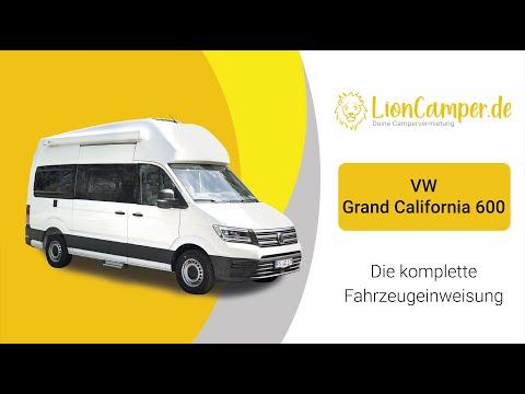 VW Grand California 600 - Die komplette Fahrzeugeinweisung