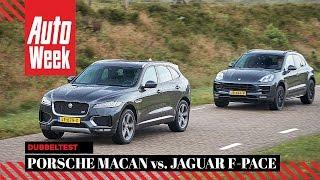 Porsche Macan GTS vs Jaguar F-Pace S AWD - AutoWeek dubbeltest