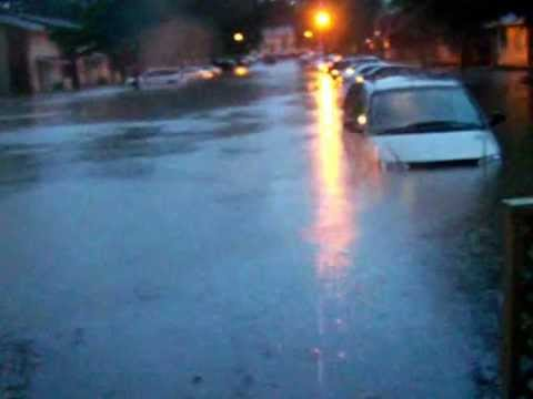Flood in North Augusta SC