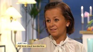 """Att leva med borderline: """"Det är en jättestor förtvivlan"""" - Nyhetsmorgon (TV4)"""