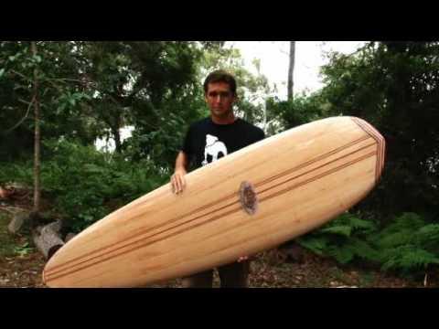 Balsa Surfboard test: Riley Performer Longboard tested by ALB