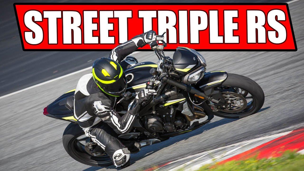 TRIUMPH STREET TRIPLE RS 2020 RENNSTRECKEN TEST!