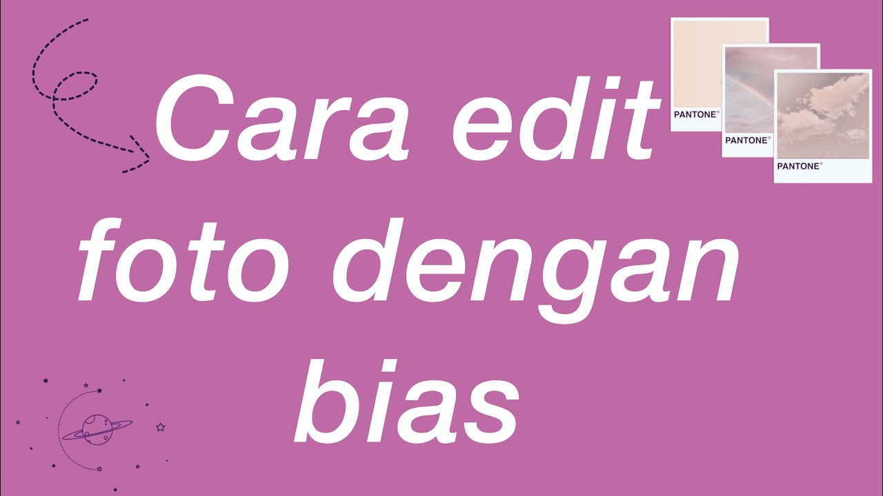 Cara edit foto halu with bias||h a l i k a - YouTube