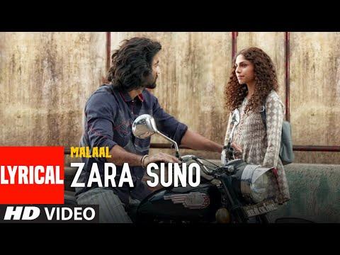 LYRICAL:Zara Suno | Malaal | Sharmin Segal | Meezaan | Rutvik Talashilkar, Aanandi Joshi |Shail Hada