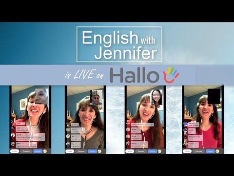 Get English Conversation Practice on Hallo ?? Speak with Jennifer