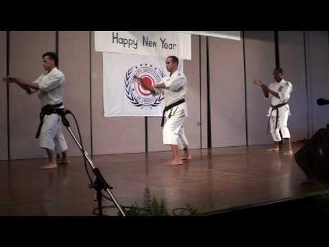 Shozen Martial Arts-Okinawan Demo 2