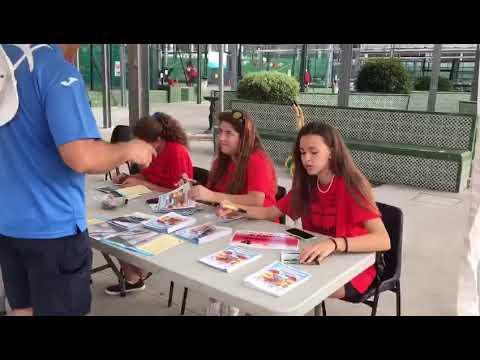 Patronato municipal de deportes en Torremolinos :  juegos juveniles ( preparativos ). Julio 2017.