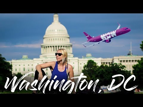 WOW Air Travel Guide Application // Washington, D.C.