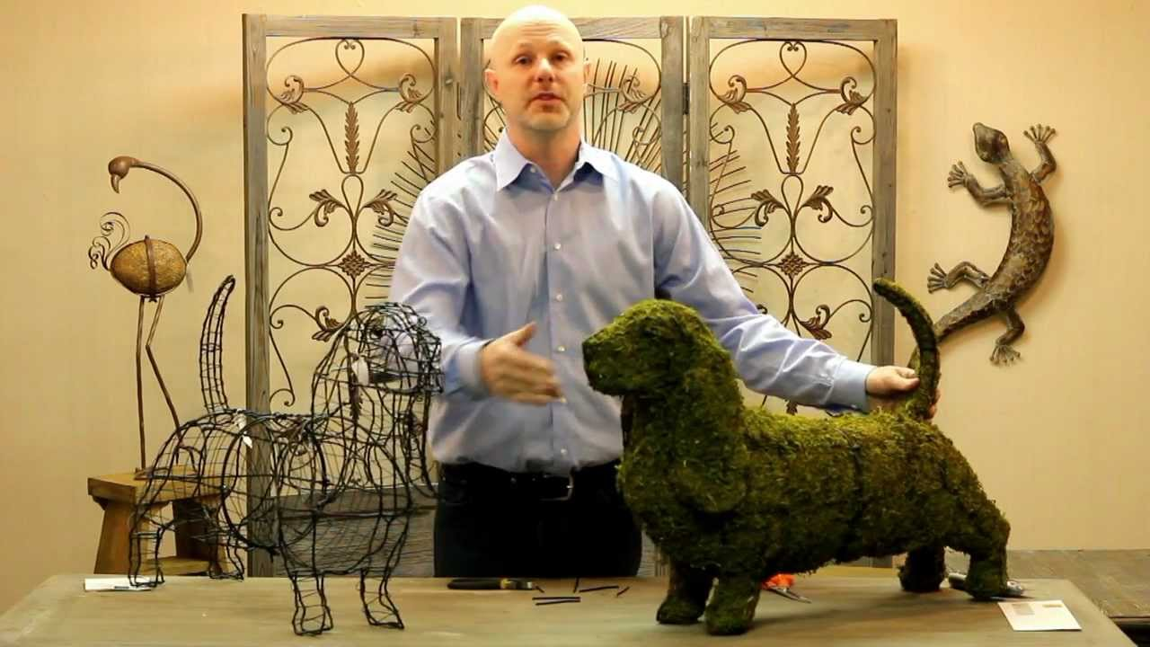Awesome How To Make Topiary Animals Part - 6: FAQ - Assembling Your Topiary - YouTube