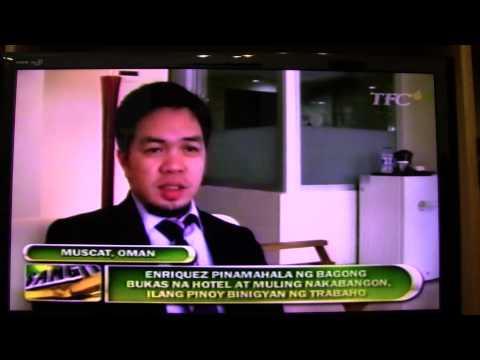 Erick Enriquez success story in Oman