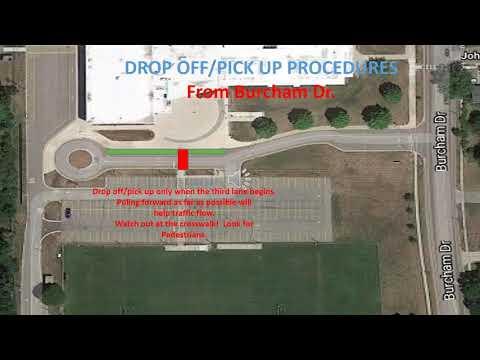 MacDonald Middle School Drop Off Pick up Procedures