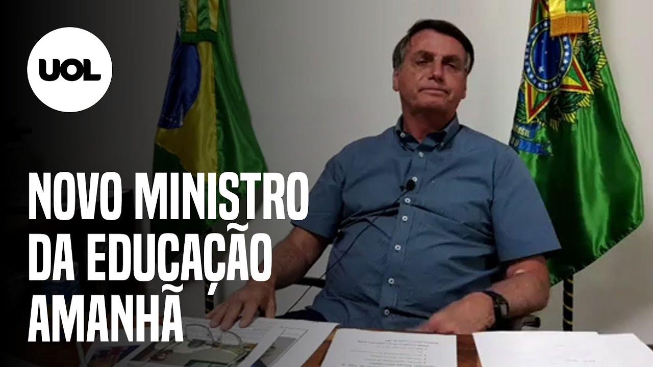 MINISTRO DA EDUCAÇÃO: BOLSONARO QUER DEFINIR NOVO NOME NESTA SEXTA - online