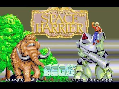 Sega 32X Longplay [009] Space Harrier