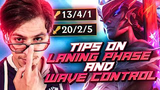 LL STYLISH | TIPS ON LANING PHASE AND WAVE CONTROL
