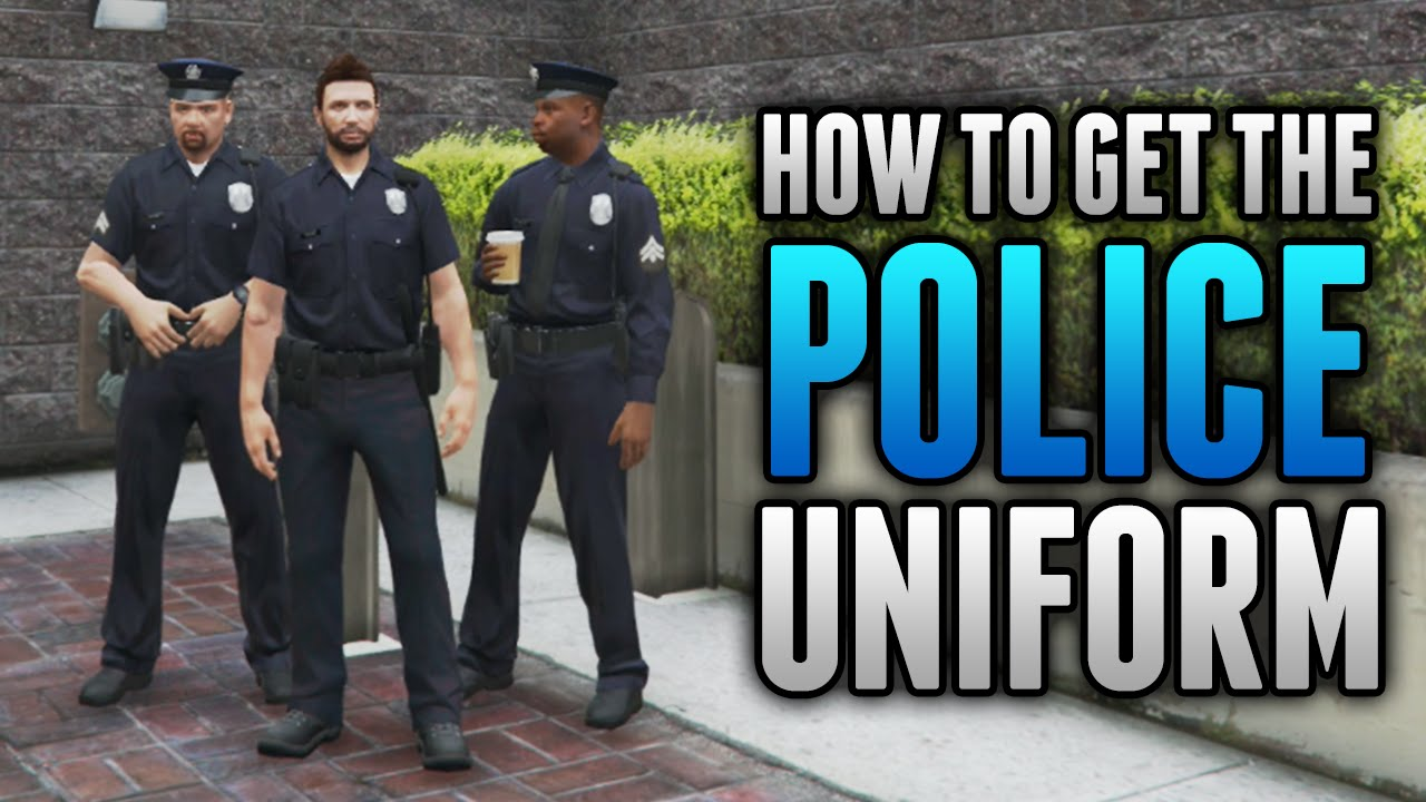 GTA 5 Online How To Wear POLICE UNIFORM IN FREE ROAM! How To Get The Cop  Outfit (GTA 5 Glitches)