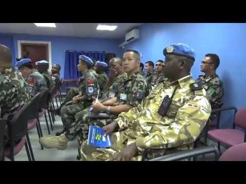 UN Security Council meets with UNMISS Contigent Commanders