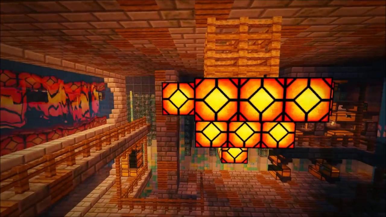 50x50 Factions Base Tour Minecraft Faction Interior Design Ep 4