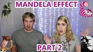MANDELA EFFECT PROOF PART 2