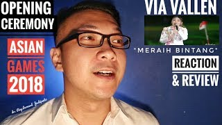 Video VIA VALLEN Meraih Bintang OPENING CEREMONY ASIAN GAMES 2018 - REACTION & REVIEW download MP3, 3GP, MP4, WEBM, AVI, FLV Agustus 2018
