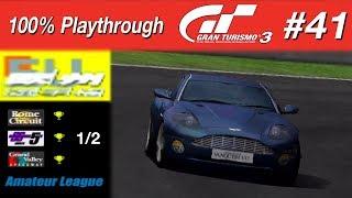 Gran Turismo 3 - #41 - European Championship 1/2 (100% PT)