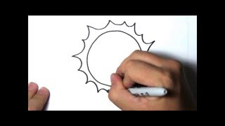 How to Draw - Sun