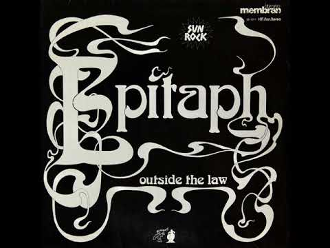Epitaph – Outside the Law ( 1974, Hard/Prog Rock, Germany )
