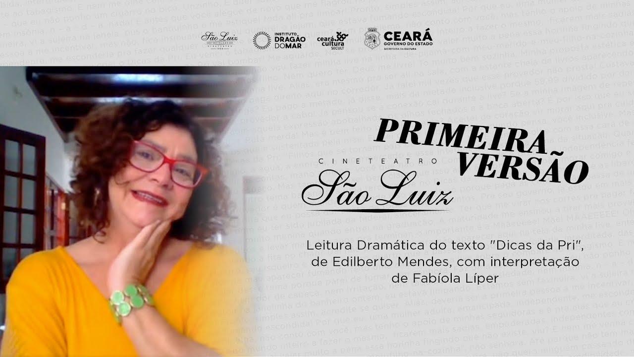 """""""Dicas Da Pri"""", com Fabiola Liper [Primeira Versão]"""