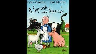 Скачать A Squash And A Squeeze Julia Donaldson