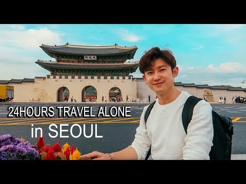 """24 hours travel """"alone"""" in SEOUL 